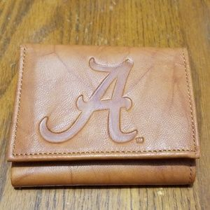 Alabama trifold Wallet Leather